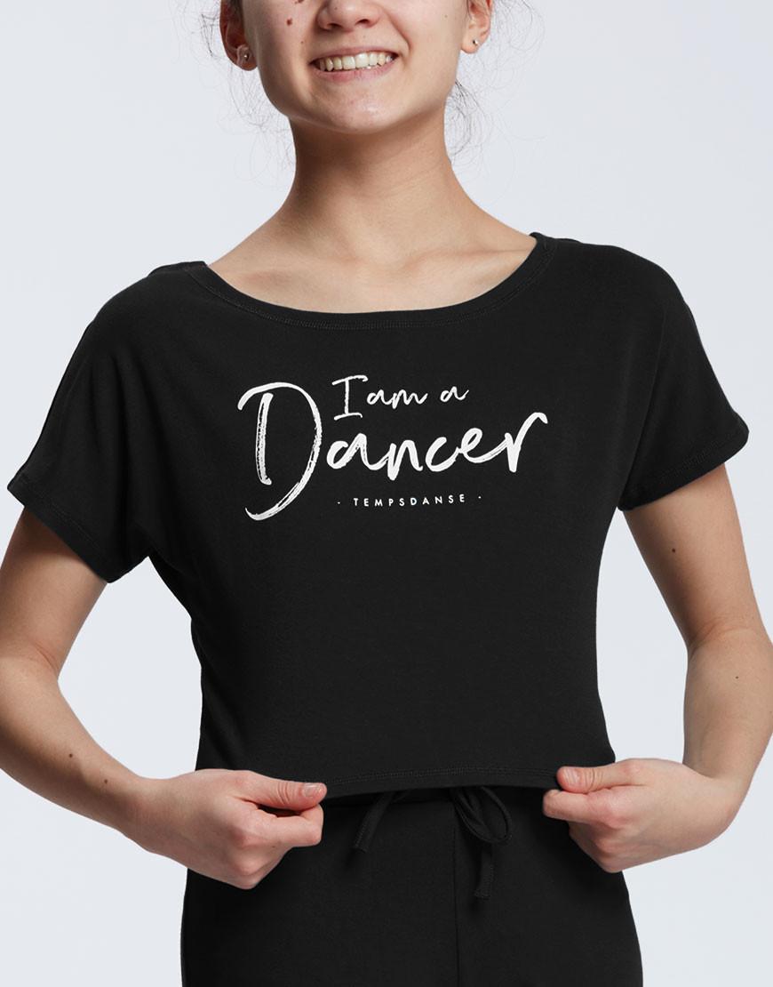 temps-danse-agile-jr-i-am-dancer streetdance dansshirt kinderen
